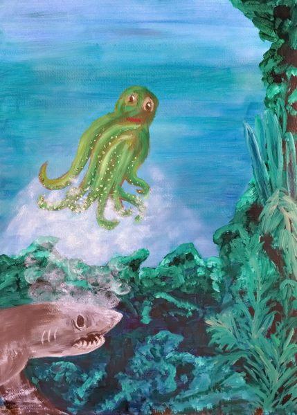 Ollie The Octopus - Illustration 10