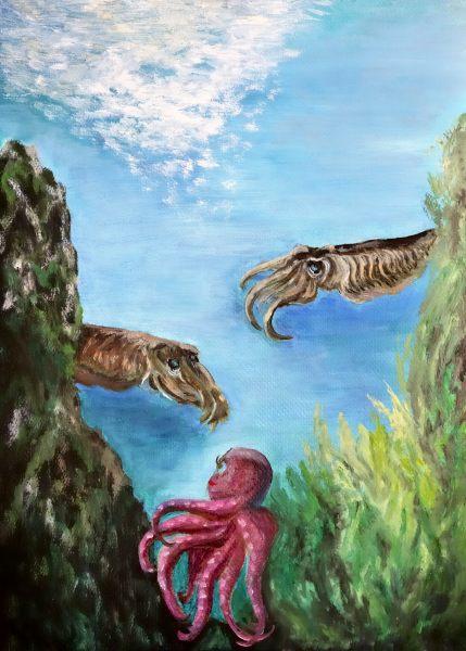 Ollie The Octopus - Illustration 11