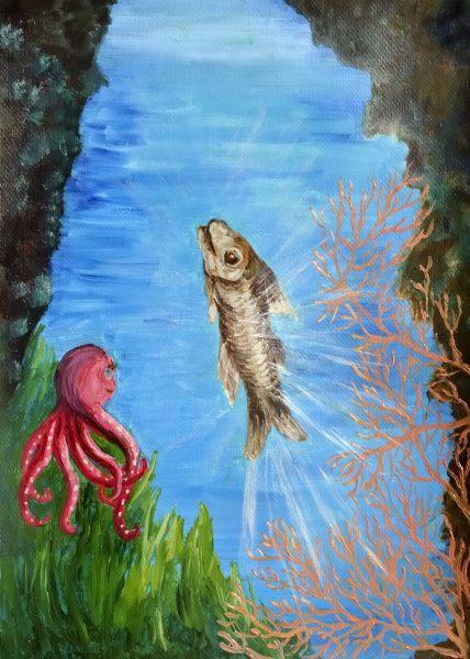 Ollie The Octopus - Illustration 12