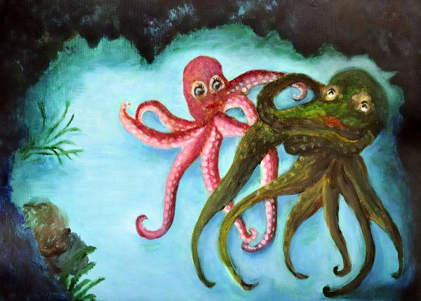Ollie The Octopus - Illustration 13