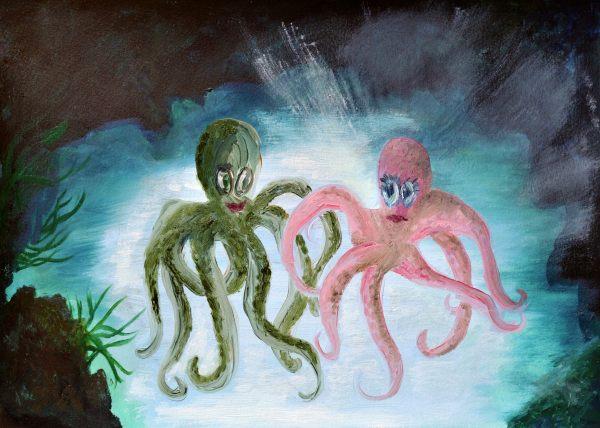 Ollie The Octopus - Illustration 2