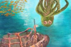 Ollie The Octopus - Illustration 3